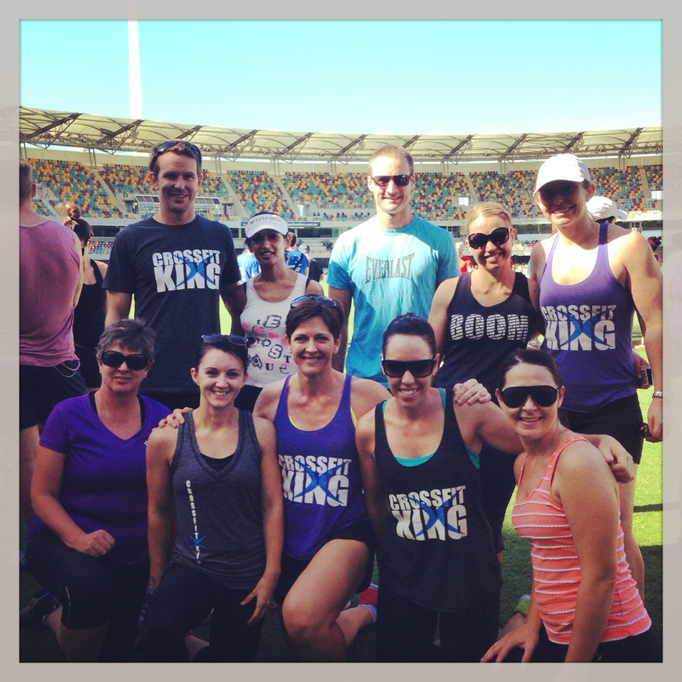 Muscle-Up for MND at the Gabba