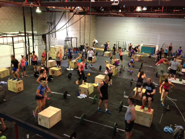 Saturday partner WOD