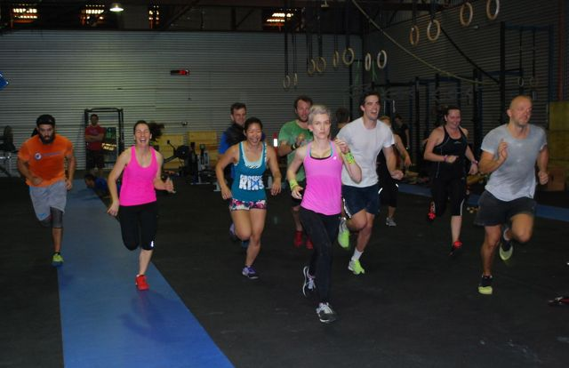 group run in gym