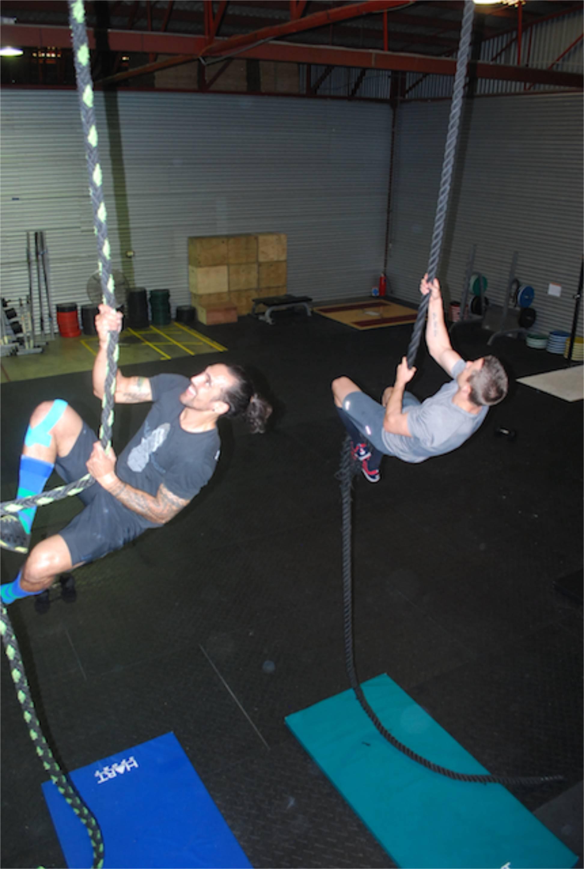 Lowndesy GT rope climb