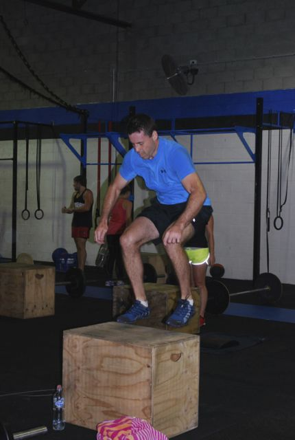 Kev Box Jump