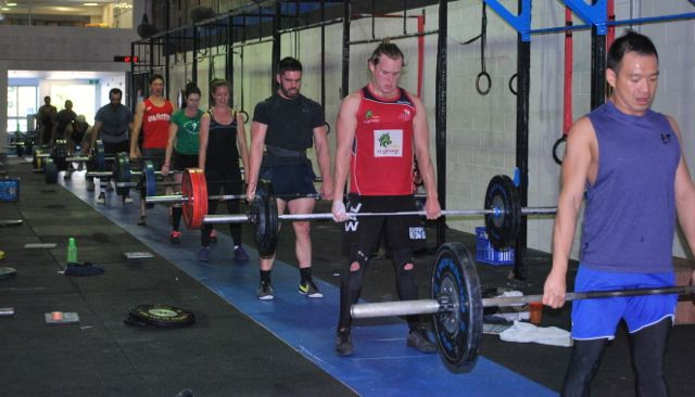group deadlift