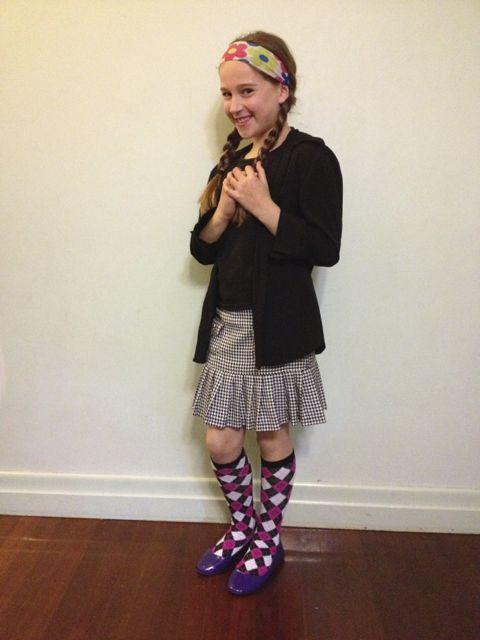 Zoe stripey socks