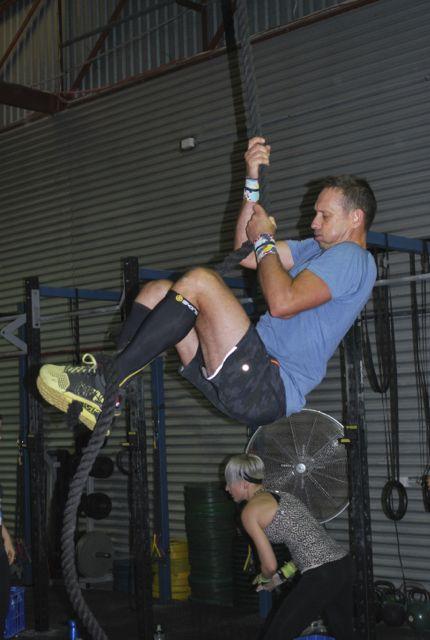 Brett rope climb